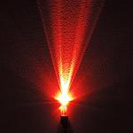 Dioda led 3mm czerwona przeźroczysta 3000 mcd 25st