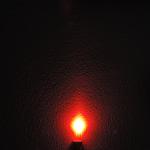 Dioda led 5mm czerwona mleczna