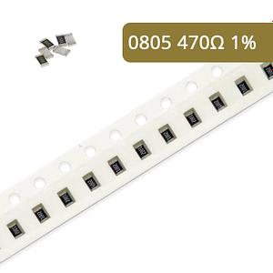 Rezystor SMD 0805 1% 470R 10 szt.