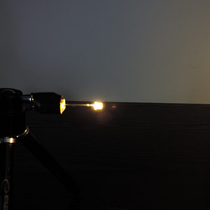 Dioda led płaska 3mm biała ciepła przeźroczysta 3500K 2000 mcd 25-35st