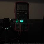 Dioda led 5mm cyan przeźroczysta mocna – pomiary