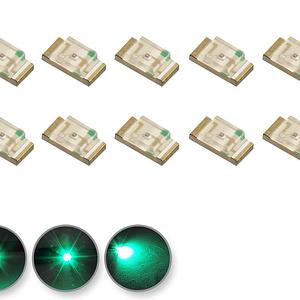Dioda LED zielona SMD 1206 - prezentacja