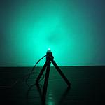 Dioda led płaska 5mm zielona szmaragd 4000 mcd 40-60st