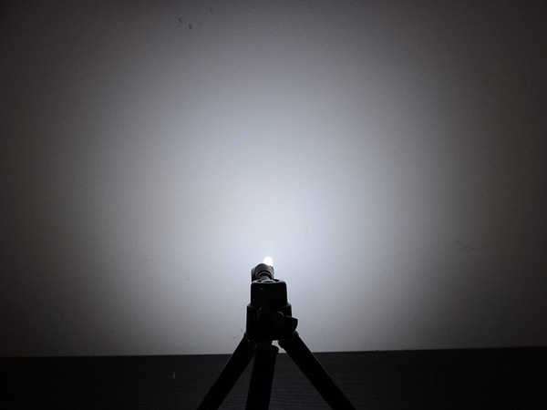 Dioda led 4.8mm straw hat biała zimna 8000-10000K 3600mcd