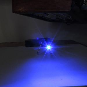 Dioda LED niebieska SMD 1206 - przód