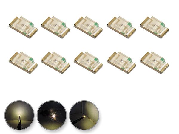 Dioda LED biała ciepła SMD 0805