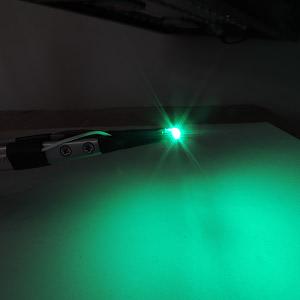 Dioda LED zielona SMD 1206 - zdjęcie 2