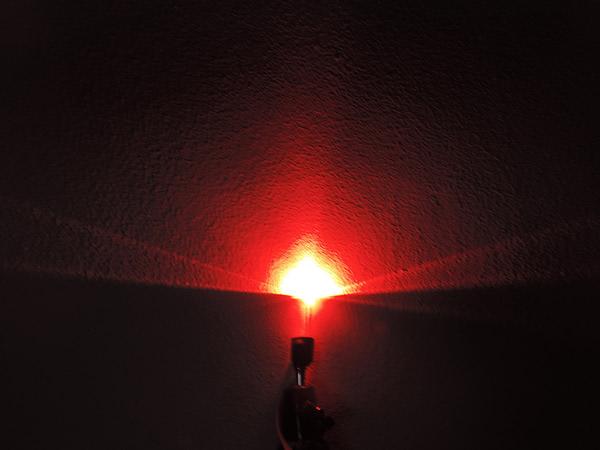 Dioda led straw hat 5mm czerwona 1200 mcd 90-120st