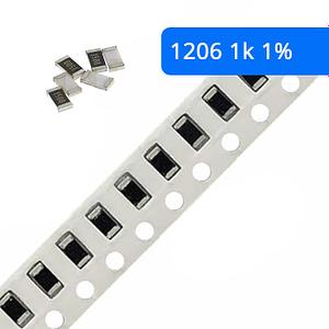 Rezystor SMD 1206 1% 1K 10 szt.