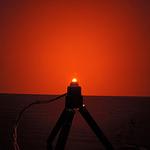 Dioda led płaska 5mm pomarańczowa 3500 mcd 40-60st