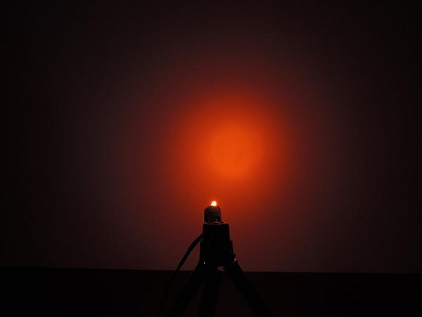 Dioda led 3mm pomarańczowa dyf. 600 mcd 25-35st