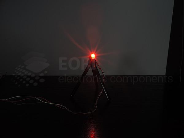 Dioda led 5mm czerwona dyfuzyjna