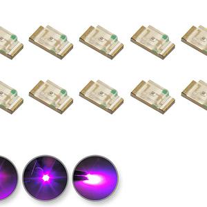 Dioda LED różowa SMD 1206