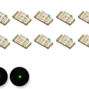 Dioda LED Żólto-zielona SMD 1206