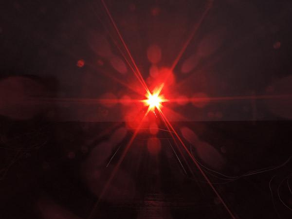 Dioda led 5mm czerwona przeźroczysta 4000 mcd