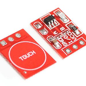 Czuknik dotykowy pojedynczy TTP223 - zdjęcie
