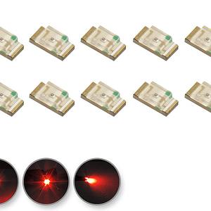 Dioda LED czerwona SMD 1206 - prezentacja