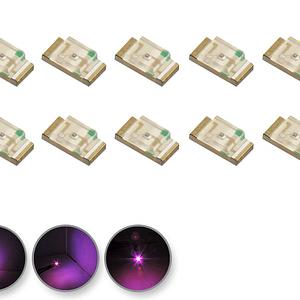 Dioda LED różowa SMD 0805 - zdjęcie