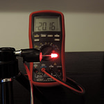 Dioda led 3mm czerwona dyfuzyjna – pomiary
