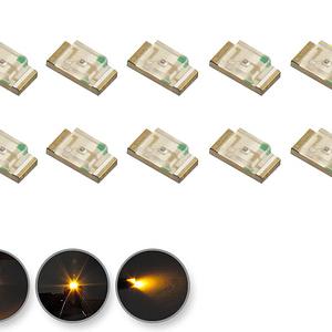 Dioda LED żółta SMD 1206 - prezentacja