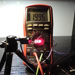Dioda led 5mm czerwona przeźroczysta
