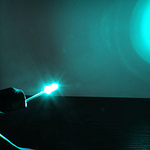 Dioda led 5mm cyan przeźroczysta mocna