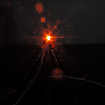 Dioda led płaska 3mm pomarańczowa 1000mcd 140 st