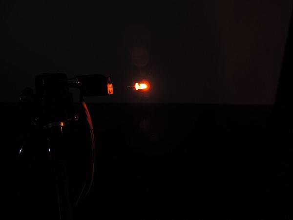 Dioda led 3mm pomarańczowa przeźroczysta 2500 mcd 25-35st