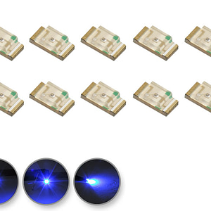 Dioda LED niebieska SMD 1206 - prezentacja