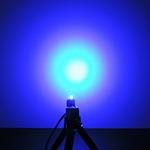 Dioda led 3mm niebieska dyfuzyjna 800 mcd 25-35st