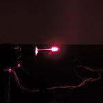 Dioda led 3mm różowa przeźroczysta 2000 mcd 15st