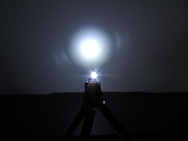 Dioda led 5mm biała zimna przeźroczysta