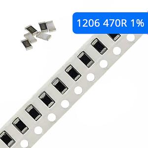 Rezystor SMD 1206 1% 470R 10 szt.