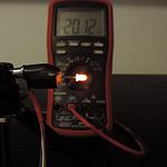 Dioda led 3mm pomarańczowa dyfuzyjna – pomiary
