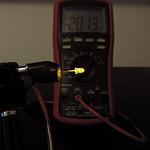 Dioda led 3mm żółta przeźroczysta – pomiary