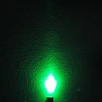 Dioda led 5mm zielona mleczna