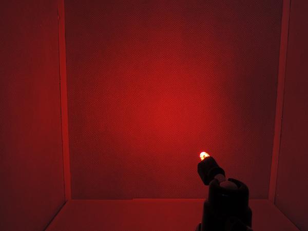 Dioda led straw hat 5mm czerwona mocna