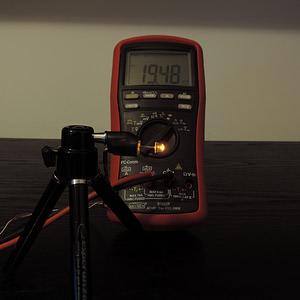 Dioda led straw hat 5mm pomarańczowa 1200 mcd 90-120st